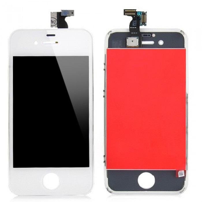 iPhone 4 biely LCD displej + dotykové sklo