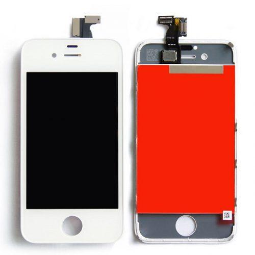 iPhone 4S biely LCD displej + dotykové sklo