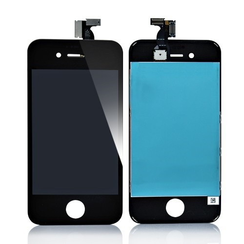 iPhone 4S čierny LCD displej s dotykovým sklom