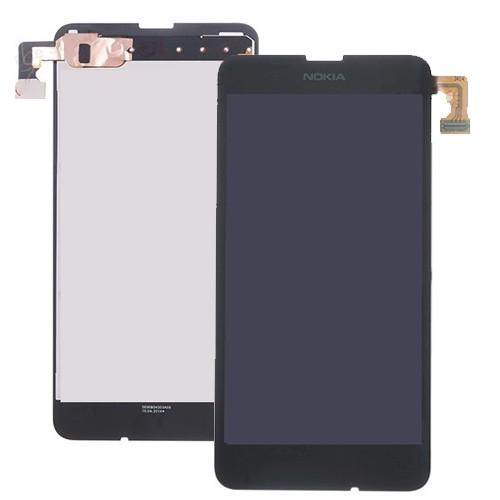 Nokia 630 LCD displej + dotykové sklo