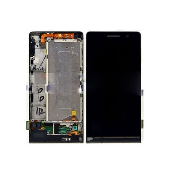 Huawei Ascend P6 LCD displej + dotyková plocha + rám
