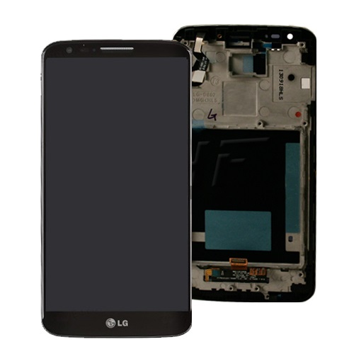 LG G2 LCD displej + dotykové sklo + rámik
