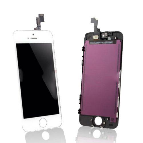Iphone 5S biely LCD displej + dotykové sklo