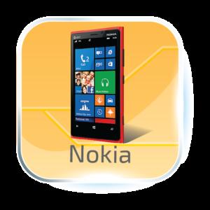 Nokia dotykové sklo